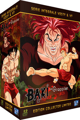★ Baki The Grappler ★ Intégrale Collector Pack 12 DVD