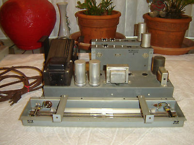 Hammond L100 Amp, Tube, Preamp, Spring Reverb, Pedal, Vintage Parts, for Repair