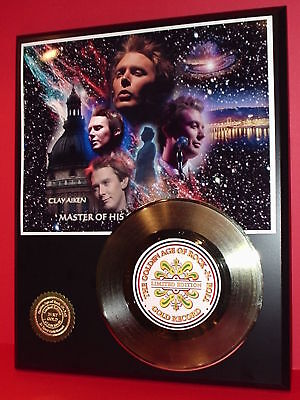 Clay Aiken Gold 45 Record Limited Edition Display