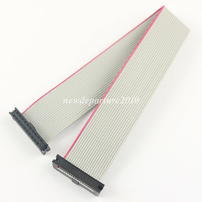 10Pcs 2mm Pitch 2x10 Pin 20 Pin 20 Wire IDC Flat Ribbon Cable Length 10CM