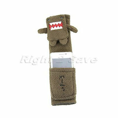 Strap Domo Kun Car Safety Seat Belt Shoulder Pads Cushion with Pouch NEW