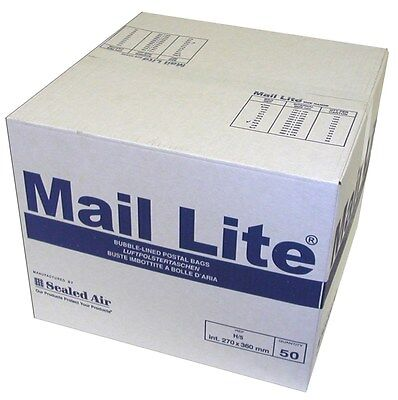 1000 Mail Lite White A/000 JL000 Padded Envelope / Bags