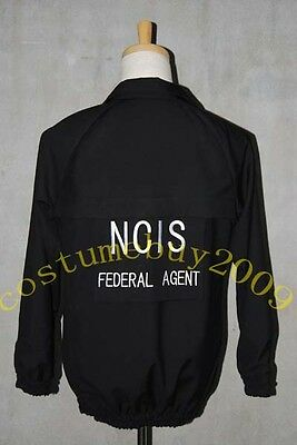 NCIS Black Staff Casual Jacket Uniform Cosplay Costume Outfit Business Suit Top