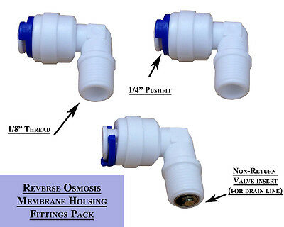 """Reverse Osmosis Membrane Housing Fitting 1/8"""" To 1/4"""""""