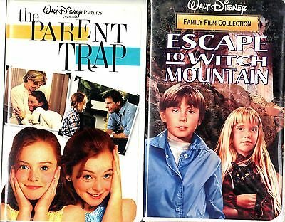 The Parent Trap (VHS, 1998) & Escape To Witch Mountain