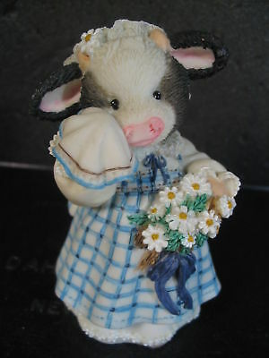 Mary's Moo Moos MILK MAID  OF HONOR Cow MIB  #167509A