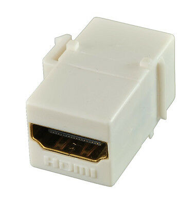 HDMI keystone coupler - 1.4 and 2.0 compatible