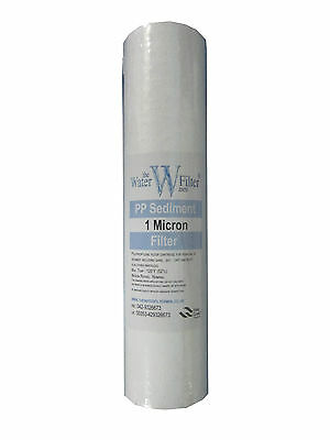 """10"""" Sediment Particle Water Filter Prefilter 1 Micron"""