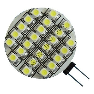 Ampoule 24 Led G4 12 volts DC Camping Car blanc froid