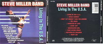 Living in the USA [Capital] by Steve (Guitar) Miller...