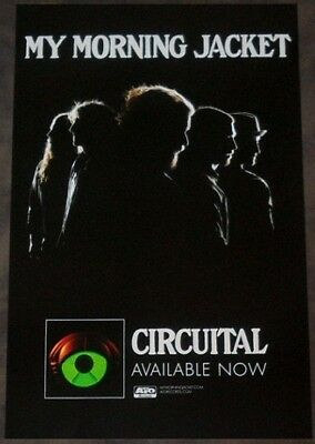 MY MORNING JACKET Circuital Ltd Ed Discontinued RARE Poster +FREE Indie Poster!