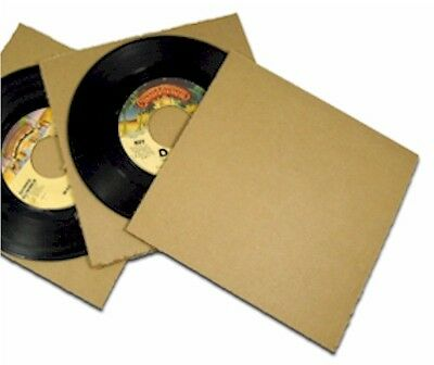 (100) 45 RPM Record Mailer Insert Pad 7.25 x 7.25
