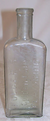 Vtg Old Bottle FOLGER'S GOLDEN GATE FLAVORING