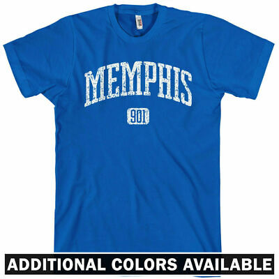 Memphis 901 T-shirt - Tennessee Grizzlies Tigers South Men and Kids - XS to 4XL