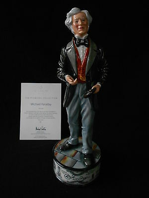 Royal Doulton Prestige Figure Michael Faraday New
