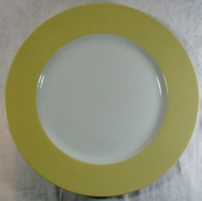 Fitz and Floyd La Ronde Yellow Service Plate