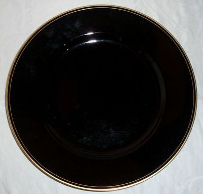 Fitz and Floyd Pavillon-Black Service Plate