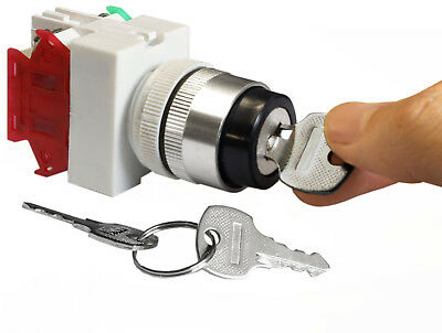 Key Switch On/Off Security Lock Heavy Duty Keyed Power Ignition