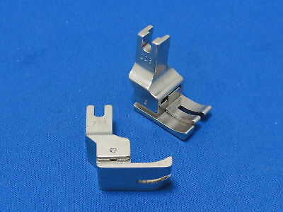 """Industrial Sewing Machine Compensating Foot Left 1/8"""" FITS BROTHER, JUKI JACK +"""