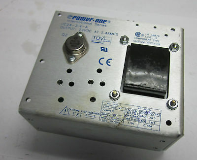 Power One Component Custom Rectifier, # HC24-2.4-A, USED, WARRANTY