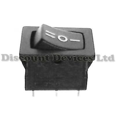 Car/Van/Boat 3 Position Dashboard SPDT Rocker Switch