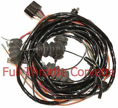 1963 Corvette Rear Lamp Body Wiring Harness w/ Back Ups