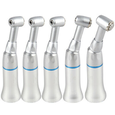 5 Pcs NSK Style Dental Low Slow Speed Contra Angle Handpiece Push Button YAD UK