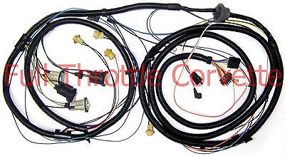 1978 Corvette Rear Body Wiring Harness With Factory Rear  Speaker Option