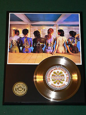 Pink Floyd - 24k Gold Record Display Rare Limited Edition - USA Ships Free