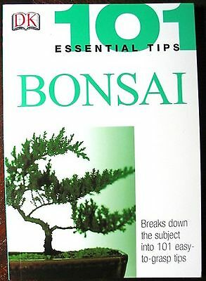 101 Essential Tips Bonsai Book By HARRY TOMINSON