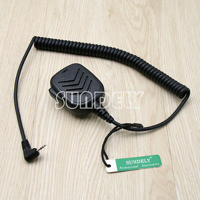 High Quality Hand Shoulder Mic for Speaker Cobra FRS GMRS 2 Way Radios -US STOCK