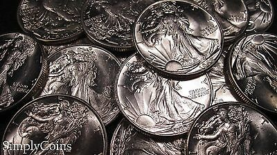 Uncirculated Walking Liberty Silver Coin Lot US Set Old