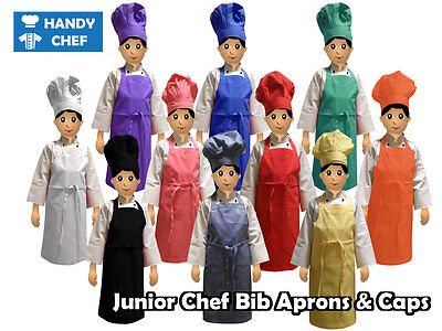 Kids Chef Hat & Kids Chef Apron Set - See our Ebay store for Kids Chef Costumes
