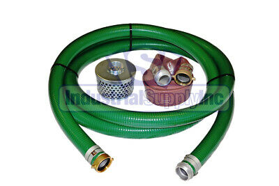 """2"""" Heavy Duty Water Suction Discharge Hose with Pinlug"""