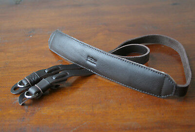 OneKnot Brown Leather Neck Strap for Leica Nikon Canon