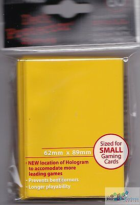 60 Ultra Pro Yugioh Cardfight Yellow Deck Protector Card Sleeves