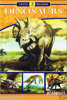 The Fascinating World of DINOSAURS Educational Book Reading Level 2 Grades 2-4