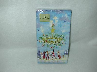 Cypress Home Festive Holiday 15 Paper Guest Napkins-New