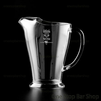 Beer Jug Pitcher 1140ml Fully Polycarbonate (12) Marked