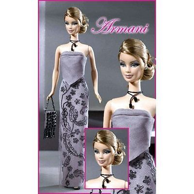 Barbie Giorgio Armani Limited Edition NRFB Mint