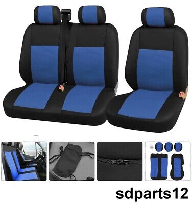 Renault Master Trafic Housse Couverture Couvre Sieges 2+1 Tissus