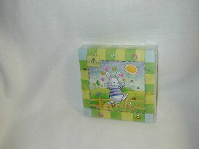"""Easter""""sunny Bunny""""luncheon Paper Napkins 40 In Pack-Ne"""
