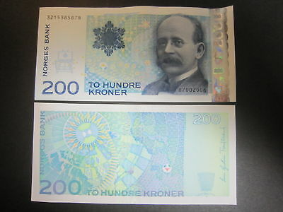 Norway P-50d 2006 200 Kroner (Gem UNC)
