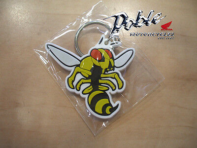 Brand New Genuine Honda Angry Hornet Key Chain Ring
