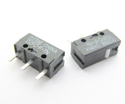 2x OMRON D2FC-F-7N Micro Switch Microswitch for Mouse
