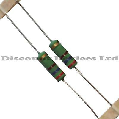 2x 100 ohm 5W High Power Resistor 100R 5Watt