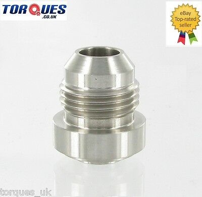 AN -8 (AN8) Male Stainless Steel Weld On Fitting / Bung