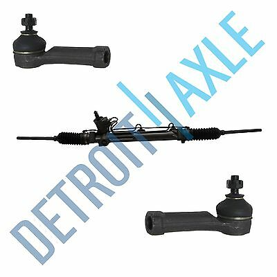 Complete Power Steering Rack & Pinion + New Outer Tie Rod End Links