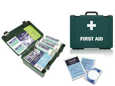 HSE 1-10 Person Workplace First Aid Kit with ** FREE CPR FACESHIELD**