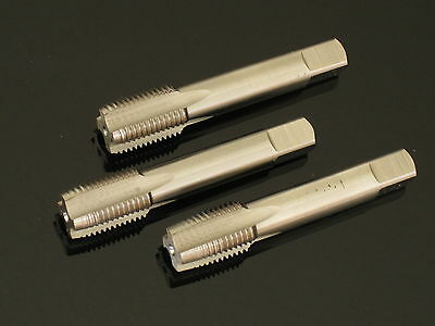 PI,  3/8 BSP G BSPF HSS quality water pipe Tap SET of 3 taper & second & plug